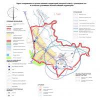 Карта современного использования территории (опорный план) д. Тукаево ЭВ